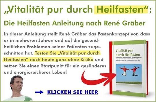 Heilfasten Anleitung nach Rene Gräber